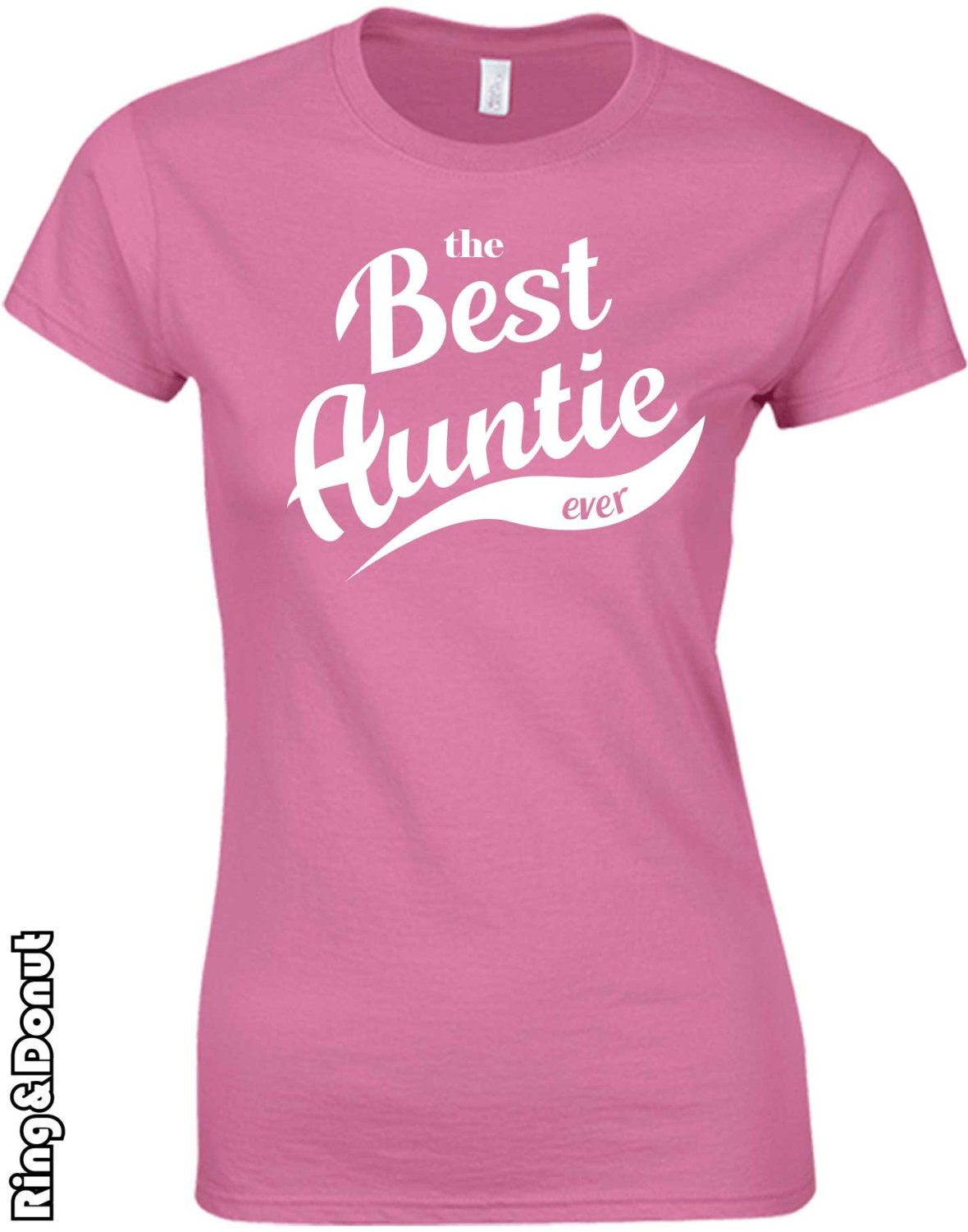 26557694da the best auntie ever tshirt, Funny women t shirt, aunt to be ladies Shirt,  Baby Newborn, New Aunt Gift, Funny, personalized tshirt, pregnant by  RingAndDonut ...