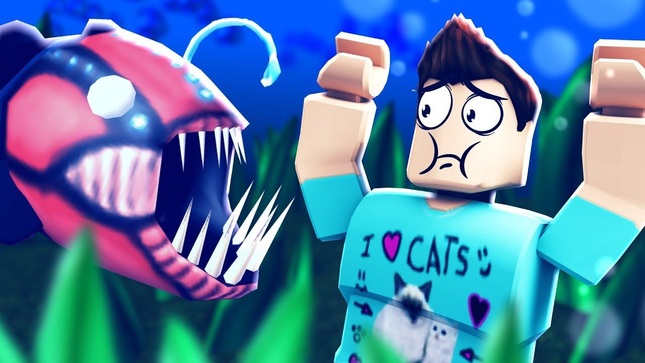 Escape The Fish Store Obby In Roblox Youtube Roblox Christmas