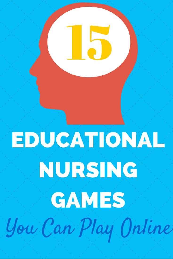 12 Educational Nursing Games You Can Play Online | Nurse games, Play ...