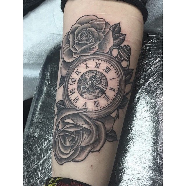 Watch Sleeve Tattoo: Image Result For Pocket Watch Tattoos