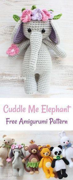 Cuddle Me Elephant crochet pattern | Pinterest | Geschenke für baby ...