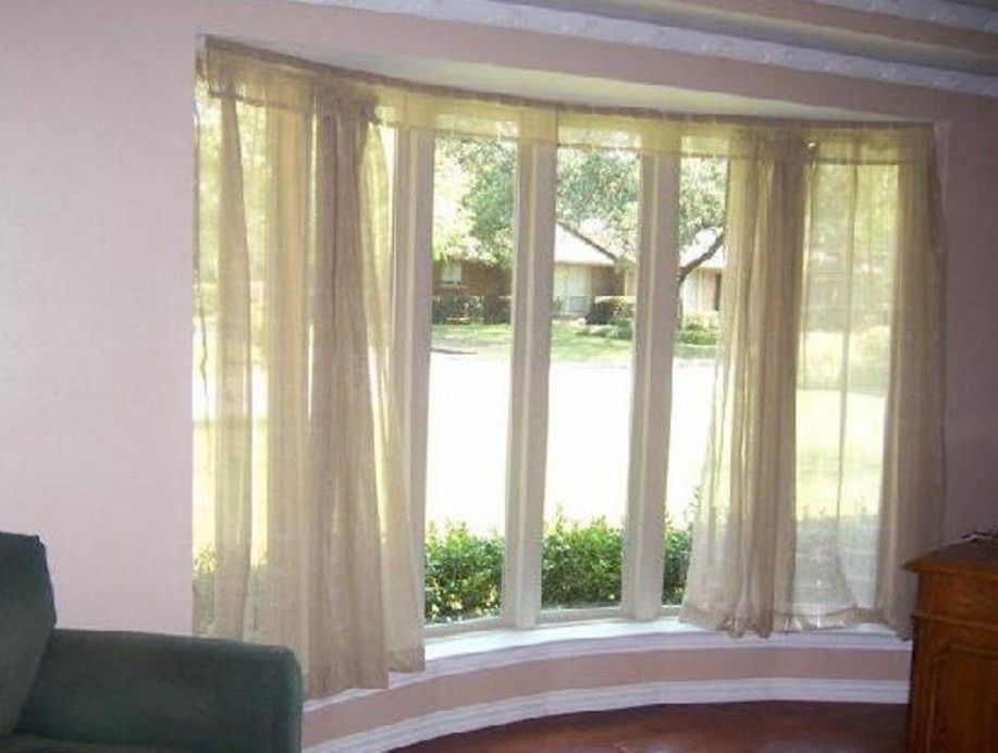 Windows And Bow Curtain Rods For Window Rod Rooms Bay Window