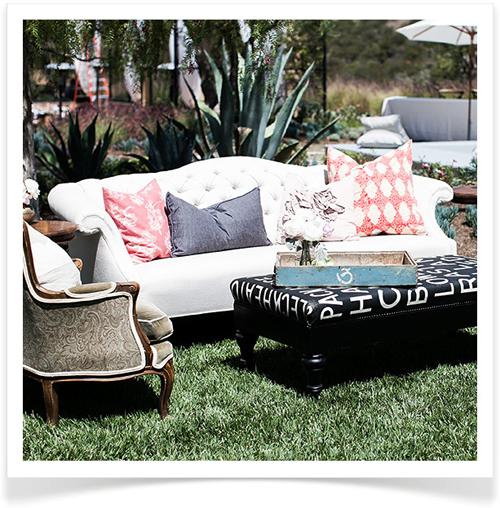 Indoor Furniture Outdoors Summer S Warm Weather Calls For Al Fresco Living Rooms