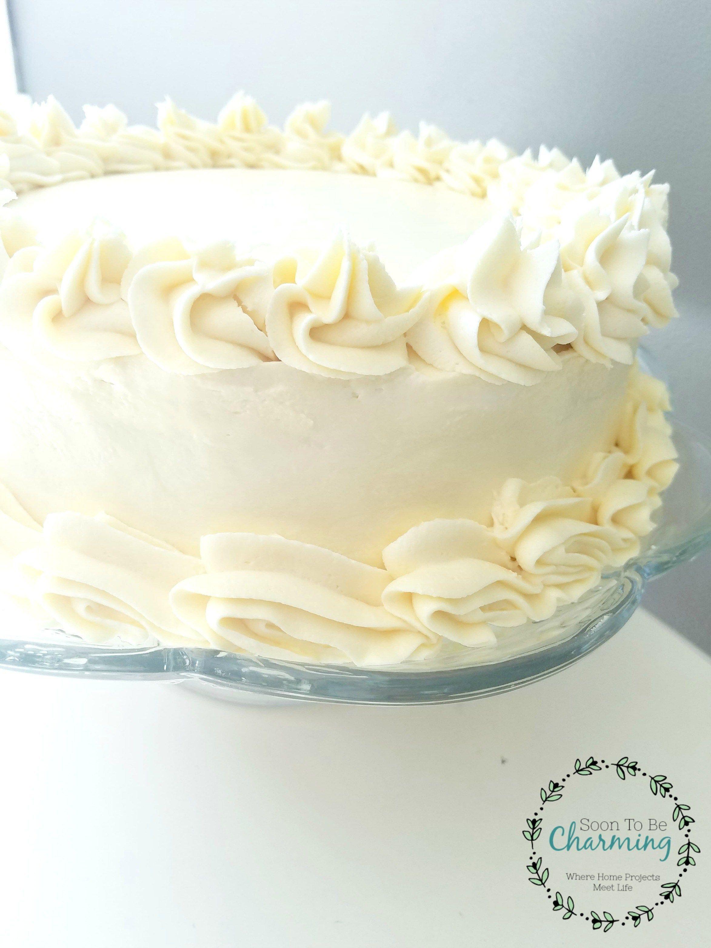 Easy Lemon Cake With Lemon Buttercream Frosting #lemonbuttercream Easy Lemon Cak… – christmasdecor