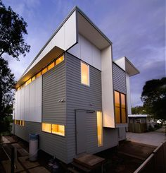 house design weatherboard corrugated iron sheets exterior - Google ...