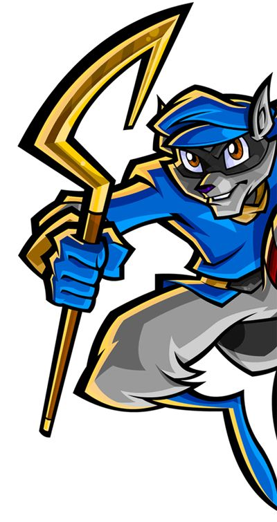 Sly Cooper Cosplay Prop Sly Cooper Cane Version 01 Game Design