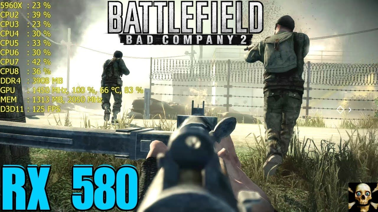 Battlefield Bad Company 2 Rx 580 Fps Performance Gameplay