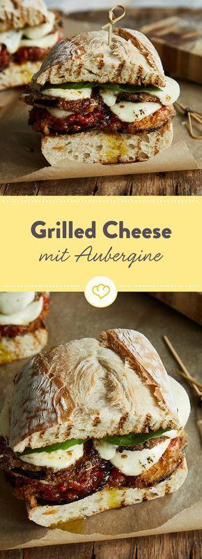 Photo of Grilled Cheese Sandwich mit Knusper-Aubergine