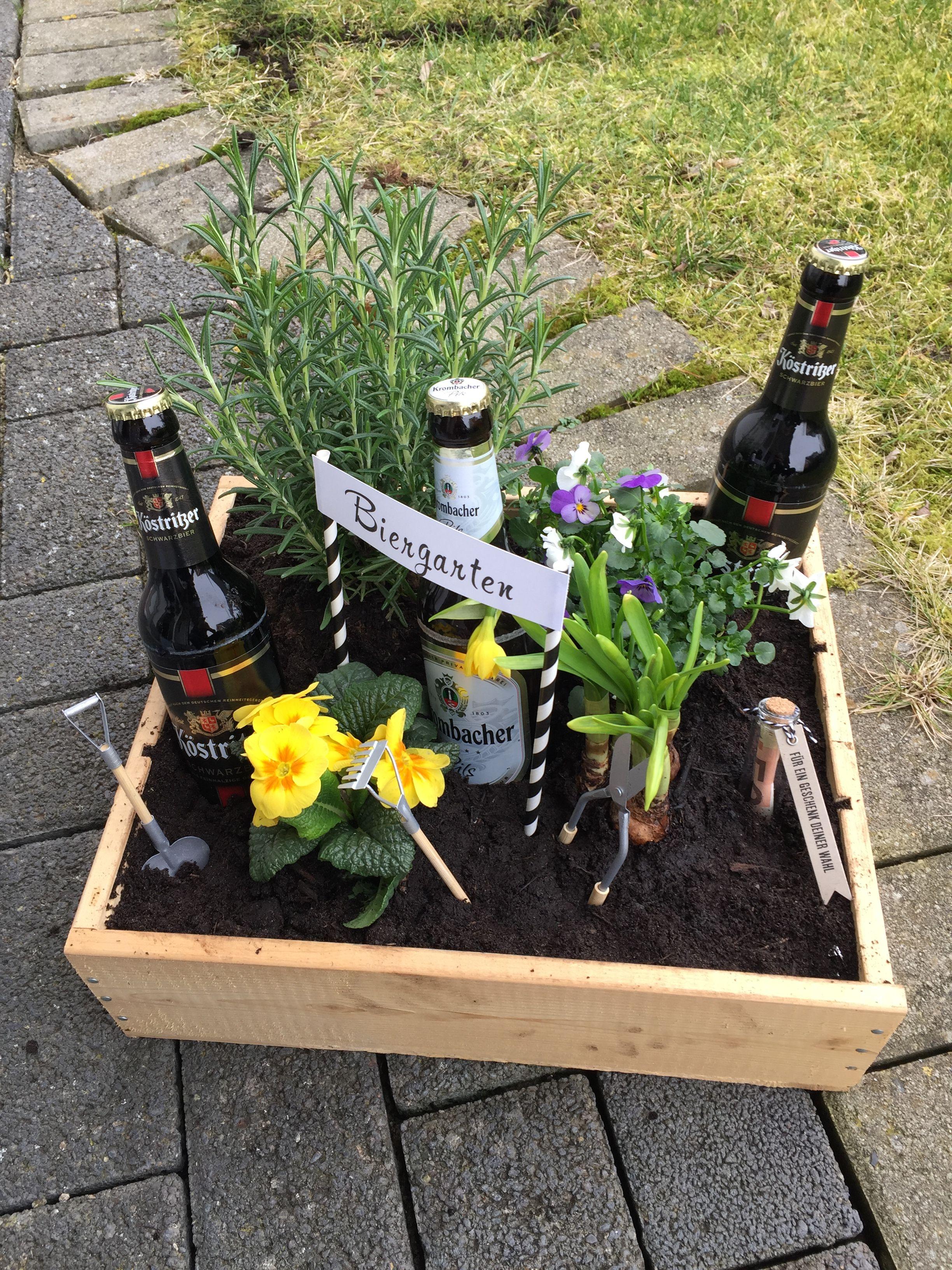 Geschenkkorb Bier Kräutergarten Geschenke Für Den Mann Geschenke