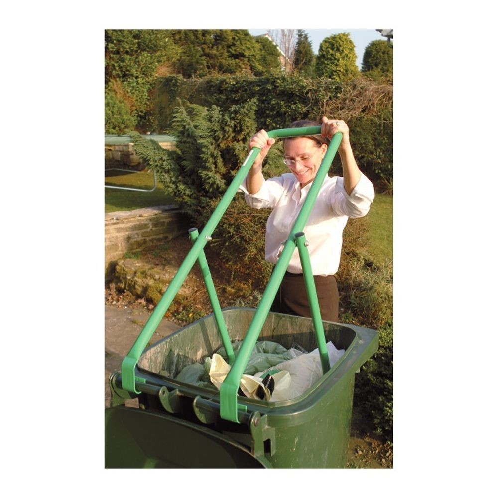 New trash compactor for wheelie bin rubbish buster waste refuse bag ...