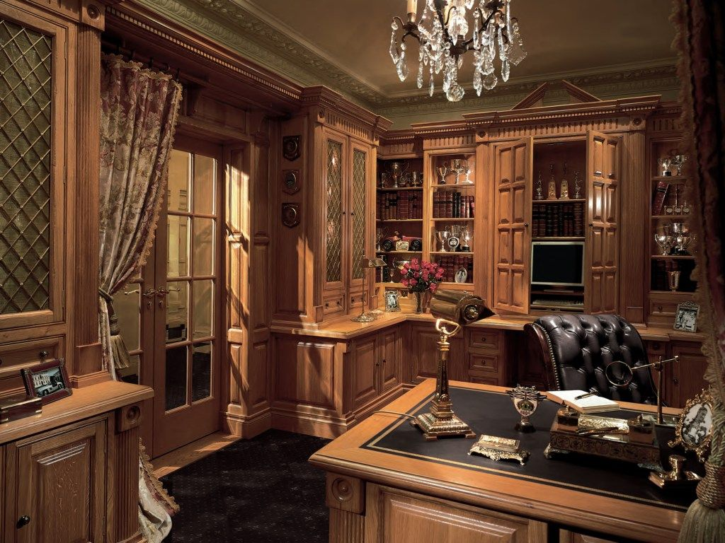 99+ Luxury Home Office Desks   Real Wood Home Office Furniture Check More  At Http