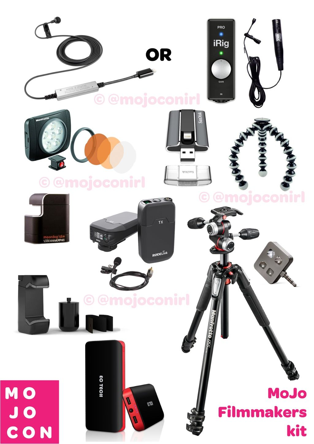 TOUCH cette image: Mojo Interactive Film Makers Kit by