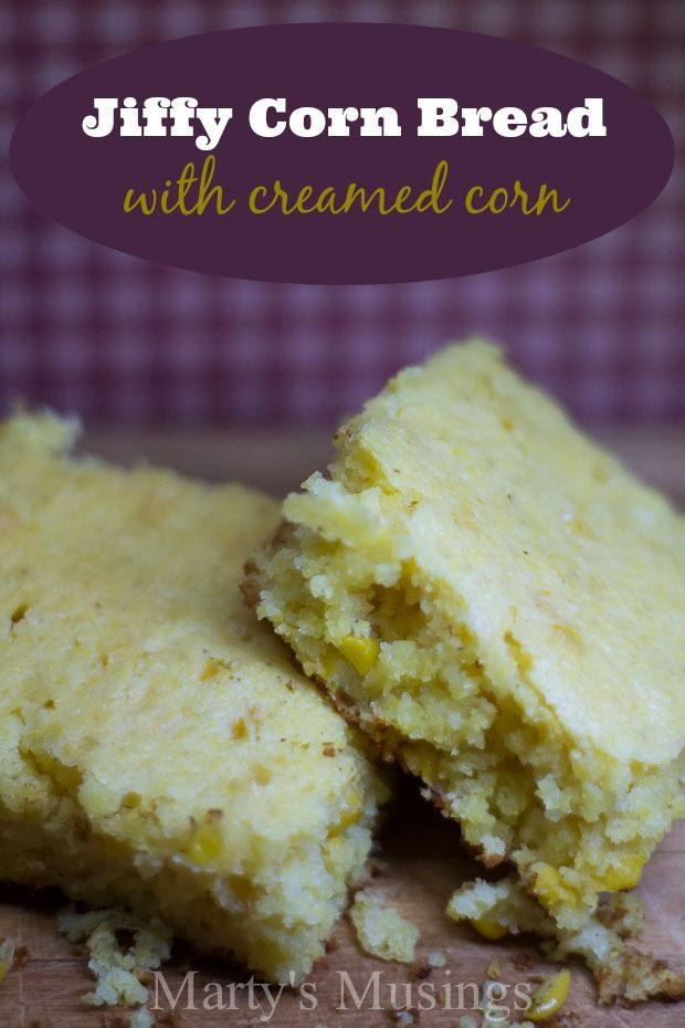Jiffy Corn Bread With Creamed Corn Food Jiffy Cornbread Recipes