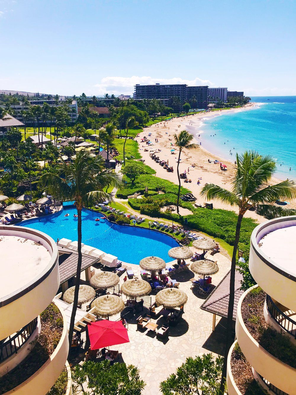 Hotel Review Maui Sheraton Resort Spa Maui Hawaii