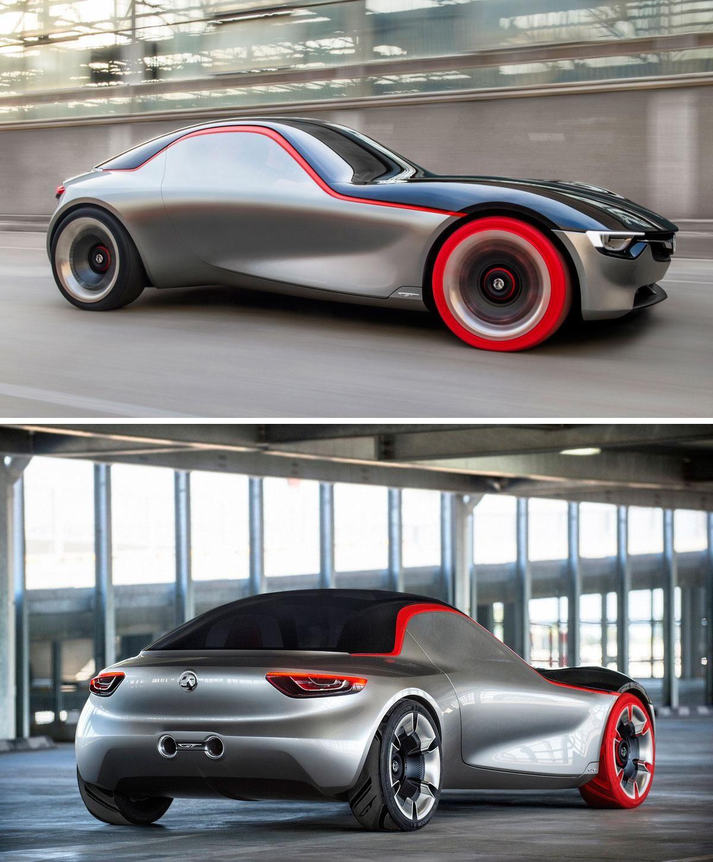 Vauxhall GT car concept