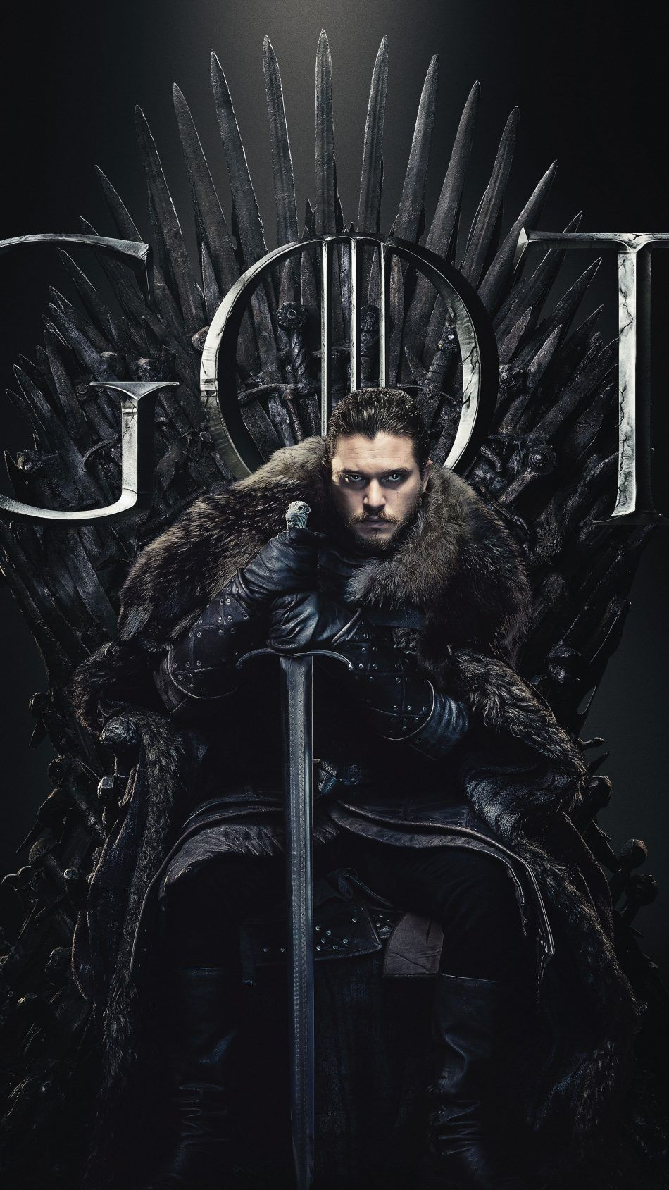 Jon Snow Game Of Thrones Season 8 Game Of Thrones Poster Jon