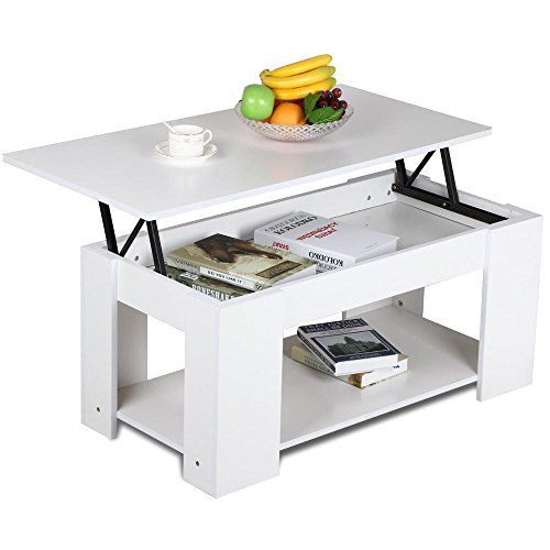Yaheetech Lift Up Top Coffee Table with Storage Shelf Modern Occasional Table White -- More info could be found at the image url.NoteIt is affiliate link ...  sc 1 st  Pinterest & Yaheetech Lift Up Top Coffee Table with Storage Shelf Modern ...