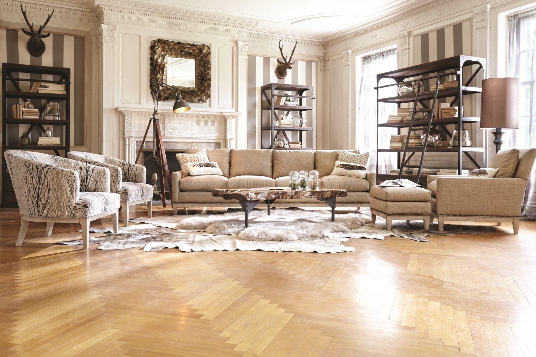 arhaus leather sofa dark gray living room ideas dante home and textiles