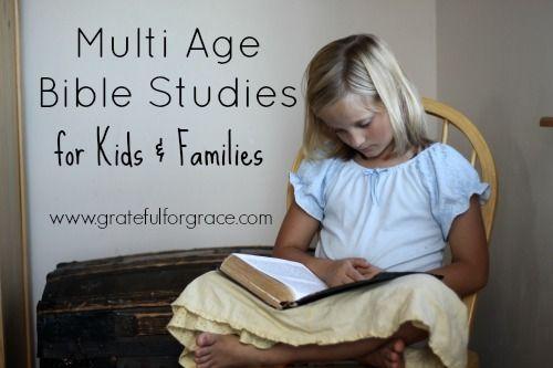 Bible Studies for Kids & Families Multi Age — Grateful for Grace