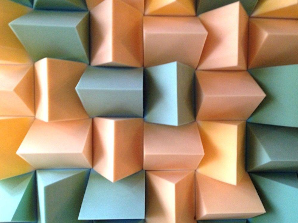 Foam Wall, ICA exhibition, London
