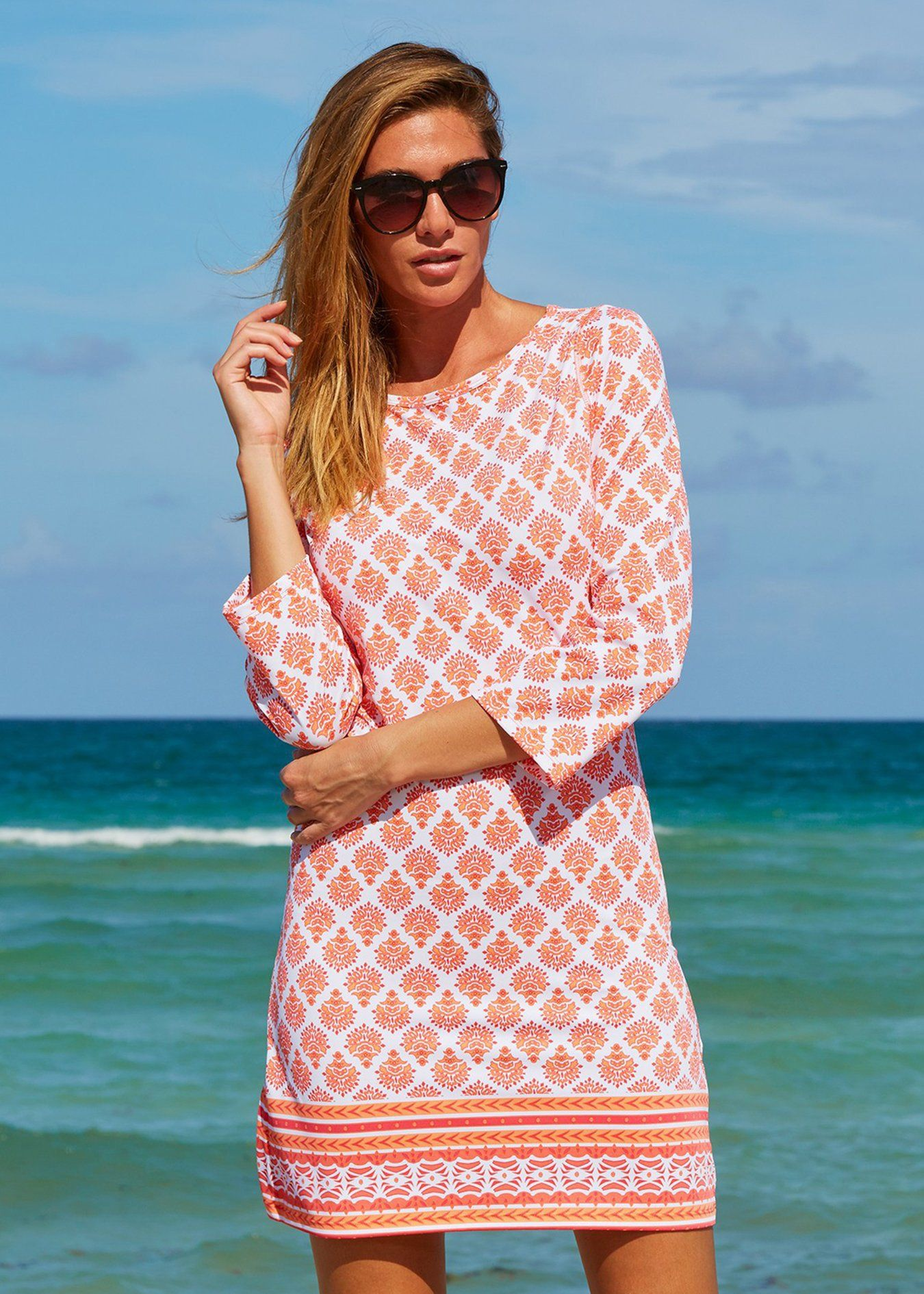 Nantucket sound cabana shift dress in 2020 upf clothing