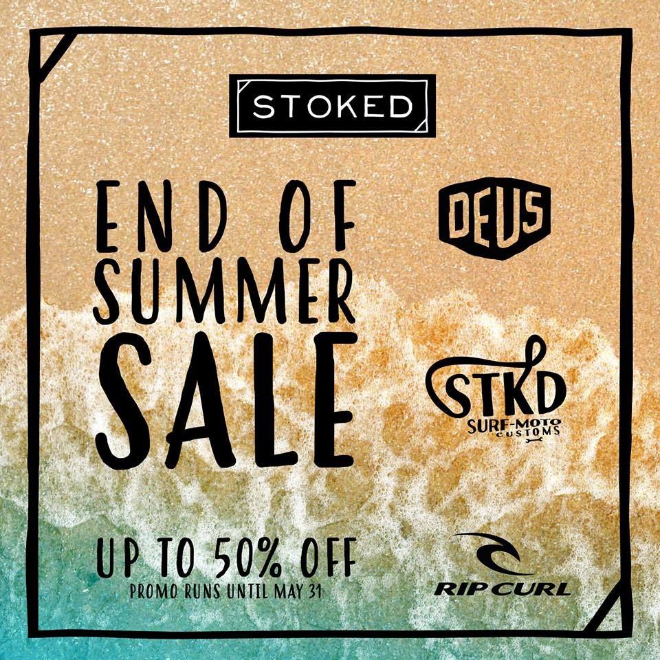 1b03693591 Take a last big sip of our juicy summer savings.  GoodbyeSummer  Stokedinc   STKDsurfmoto  RipCurl  Deus