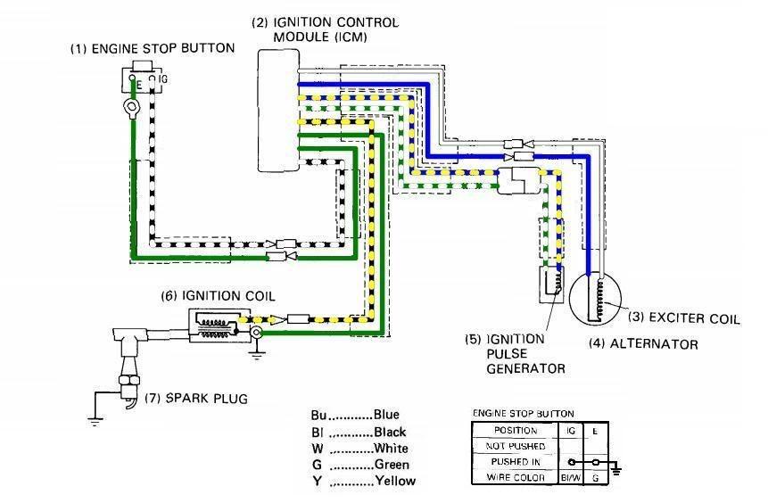 Related Image Alternator Yamaha V Star Spark Plug