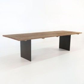 Bistro Style Square Teak Table With Images Teak Table Teak Dining Table