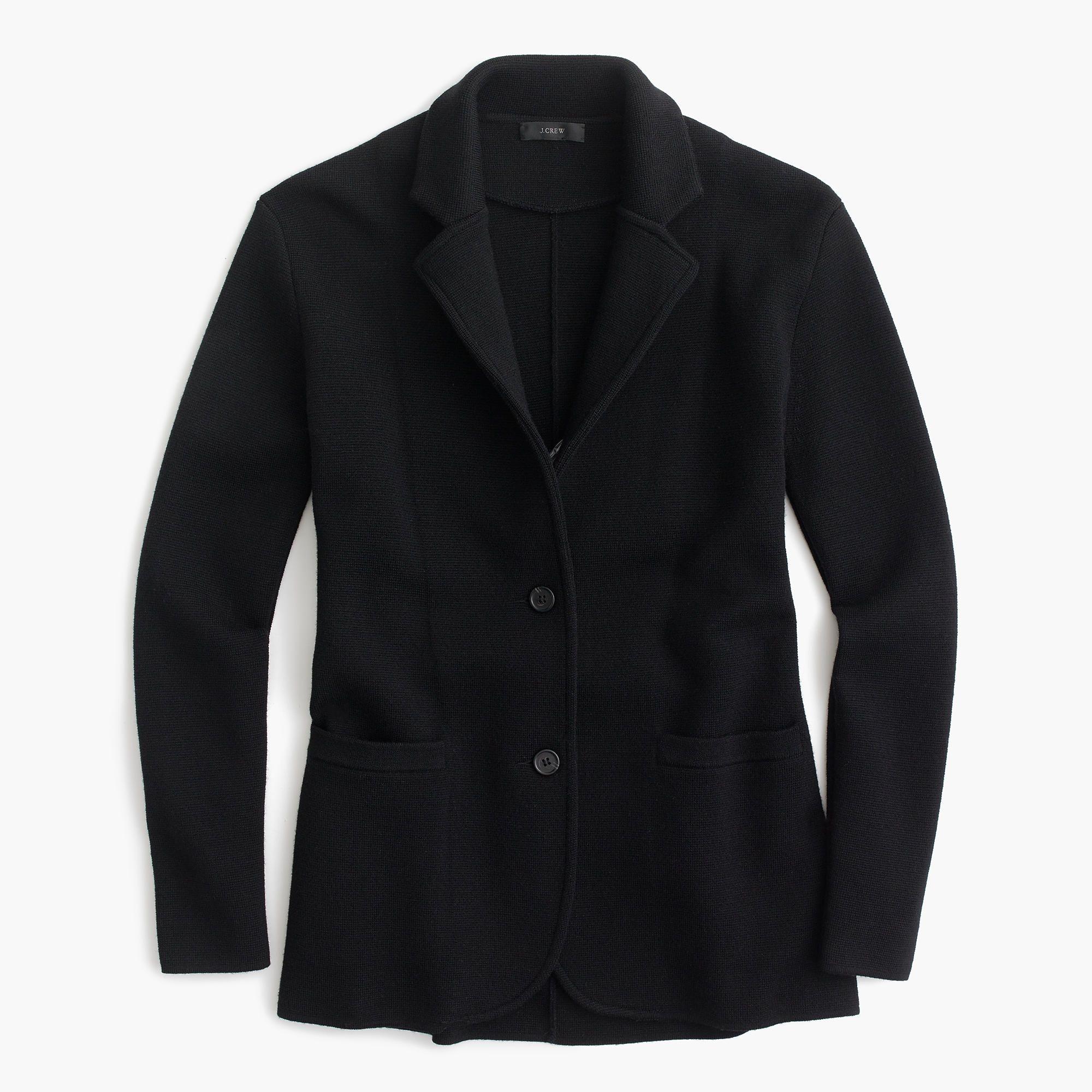 J.Crew Womens Merino Wool Sweater-Blazer (Size XXS) | Merino wool ...