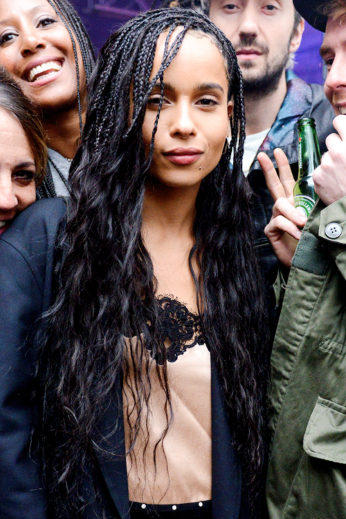 Zoe Kravitz Hairstyle Braids
