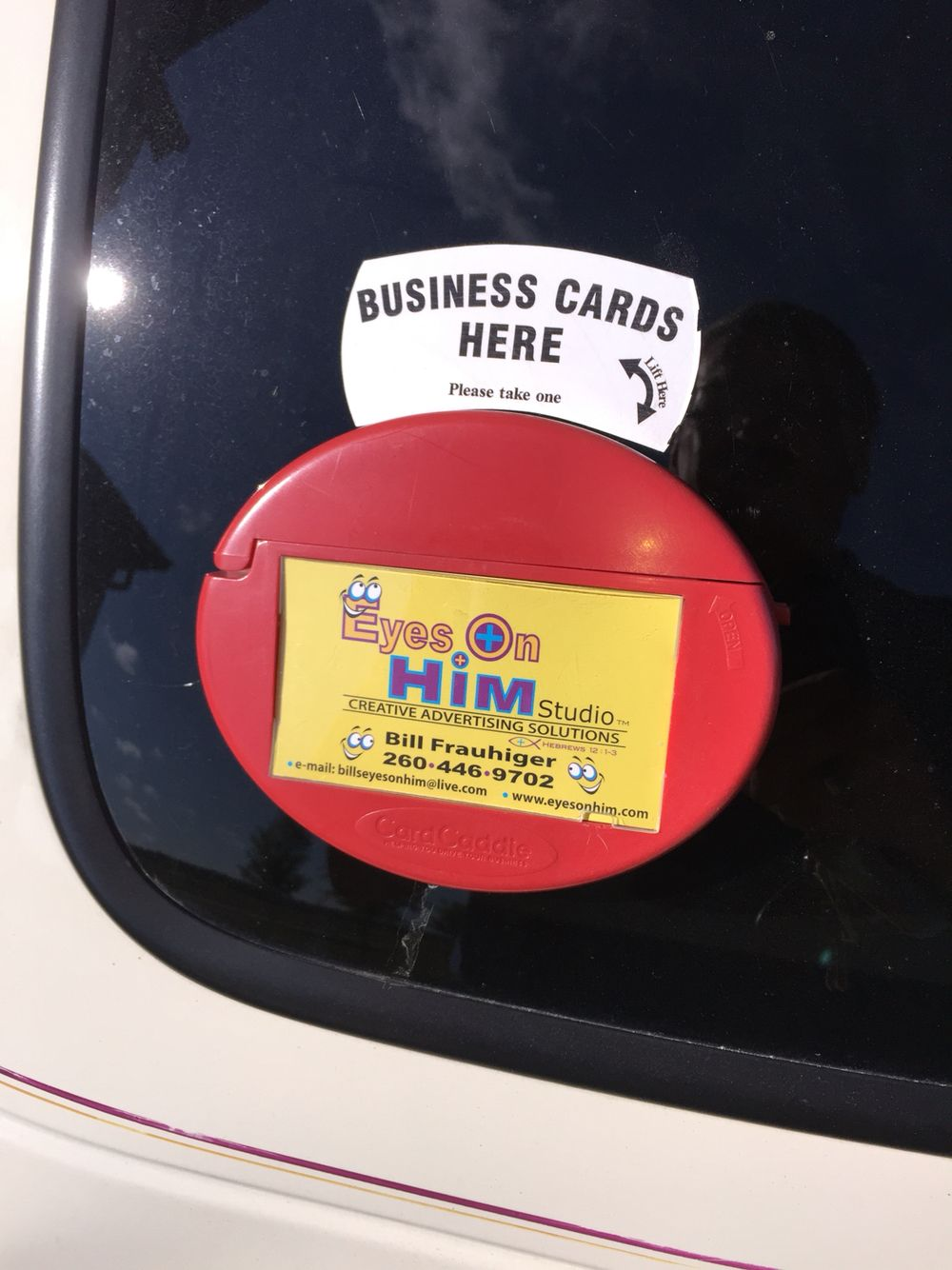 The Card Caddie is a Waterproof Business Card Holder that l have ...