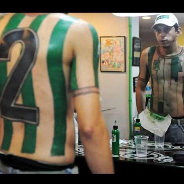 Tatuajes Futboleros fotos: los tatuajes futboleros más locos | mundial brasil 2014