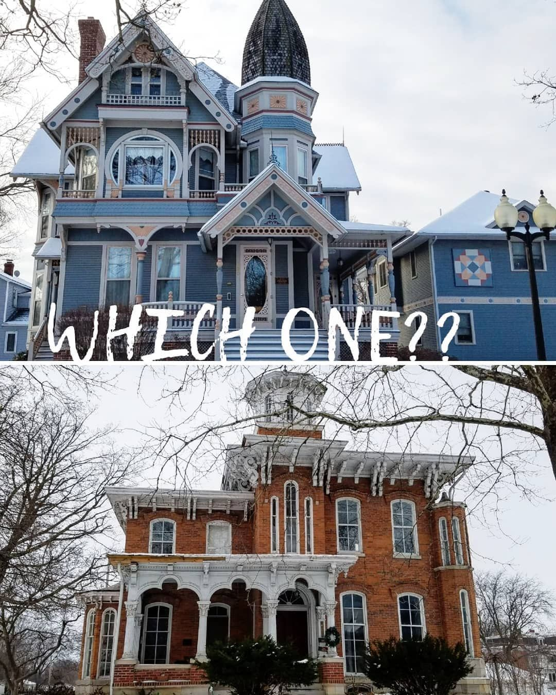 I Like Seeing What Style Of Architecture People Prefer Which