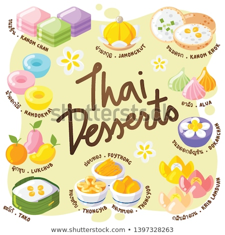 Thai Desserts You Should Try Thai Dessert Dessert Illustration Desserts Drawing