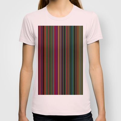 Re-Created Channels xxiv #T-shirt by #Robert #S. #Lee - $18.00