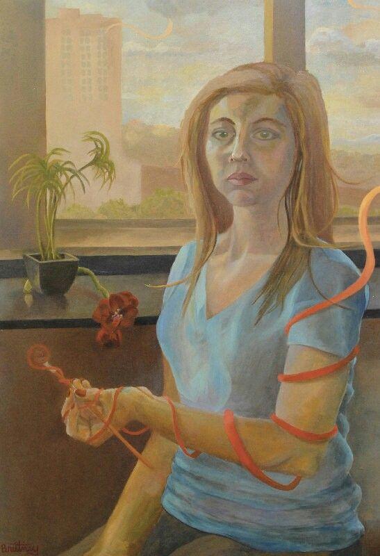 Self Portrait by Brittney R.
