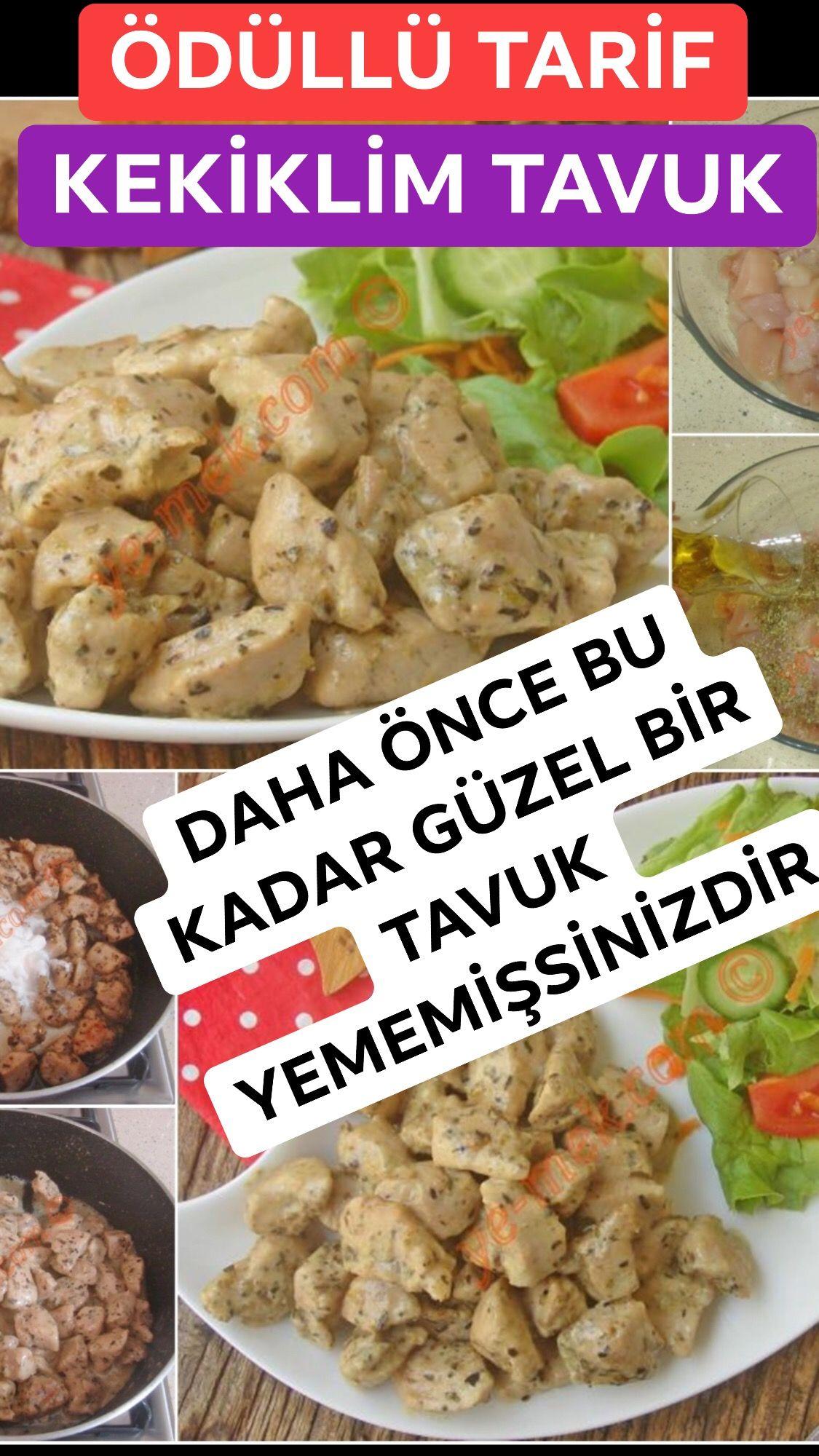 Kekiklim Tavuk Tarifi Nasıl Yapılır Tavuk Dünyasının Ödüllü Tarifi Daha önce bu kadar güzel bir tavuk yemeği yememişseniz de tavuk düny...