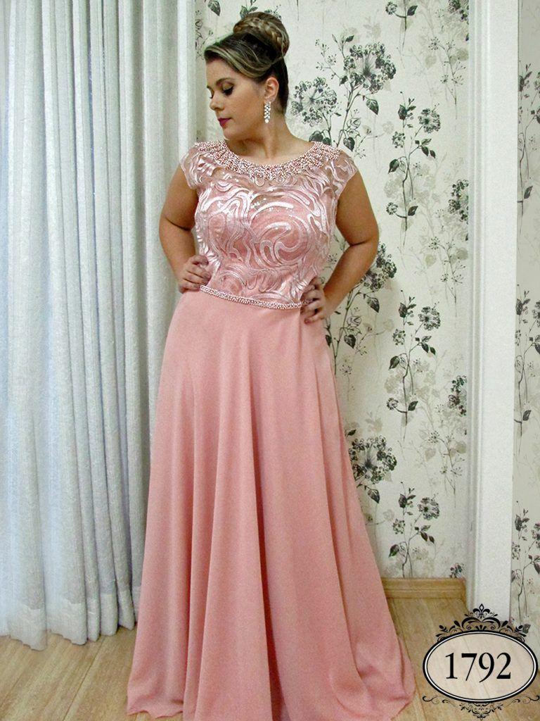 Coleção Ouro - Vestidos Plus Size - Aiza Collection   Vestidos ...
