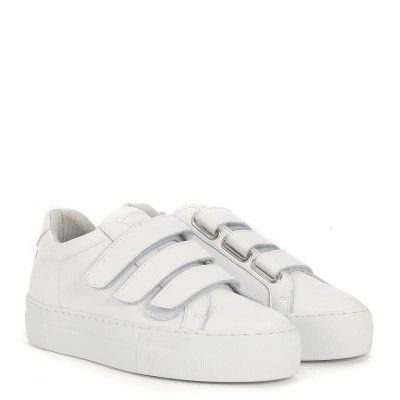 National Standard 44 Bianca In Pelle Laterale Edition Sneaker CexodB
