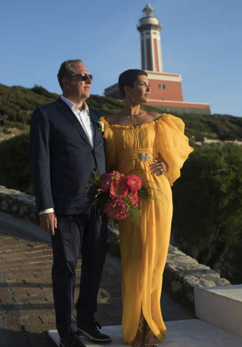 Cristina Cordula, la robe de mariée en couleur