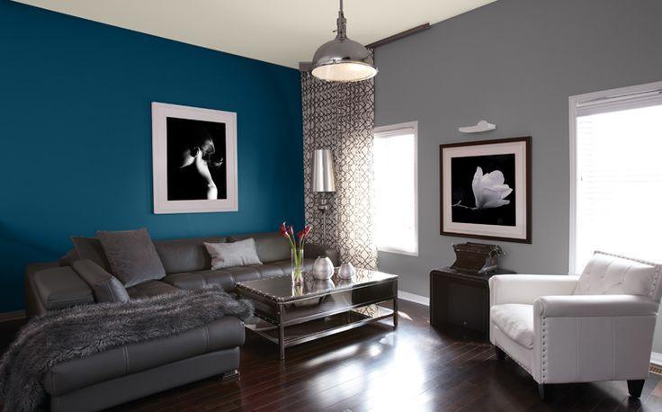 Déco salon salon idées peinture couleurs sico