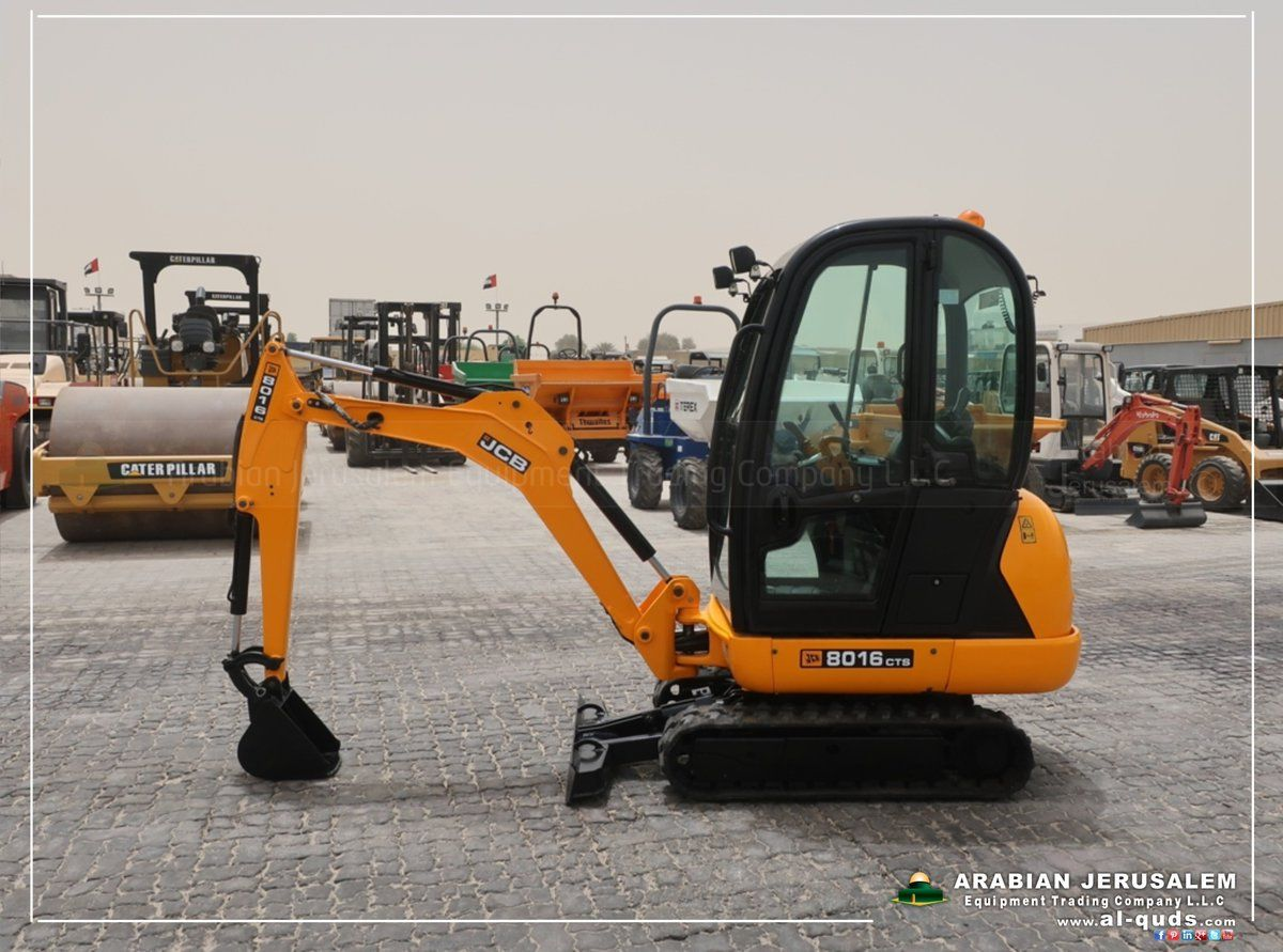 JCB Mini Excavator - Model: 8016 , Available! See more