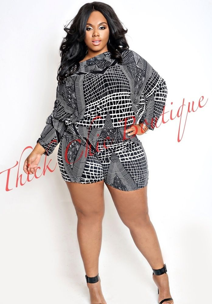 Multi Wear Romper By Thick Chic Boutique Grown Sexy Pinterest Boutique Curvy