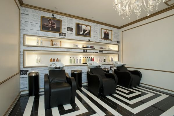 Salon ambience hairdressing furniture made in italy for Software per interior design
