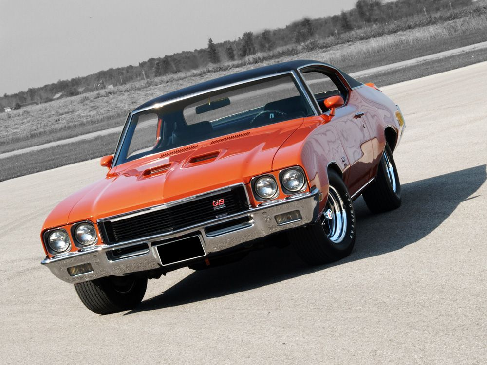 Muscle Car Madness 1972 Buick Gs 455 Hotrod Hotline Classic