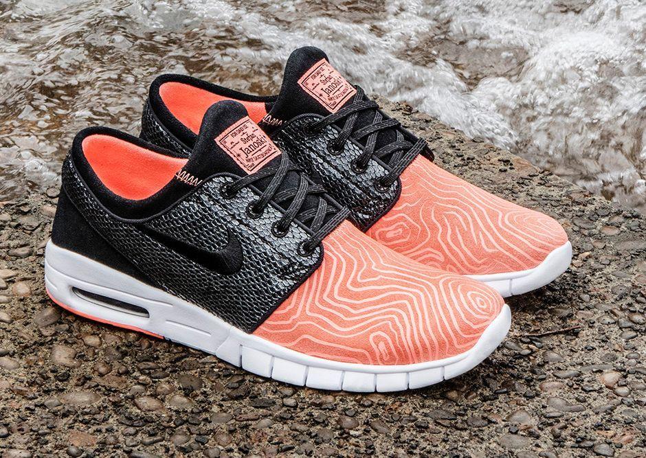 sortie rabais vente classique Nike Max Stefan Janoski Suède Orange fourniture sortie vente au rabais kodHH,