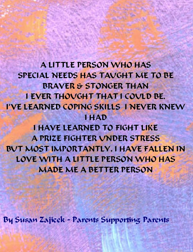 What Have We Learned About Special >> With All The Challenges Of Parenting A Child Who Has Special Needs