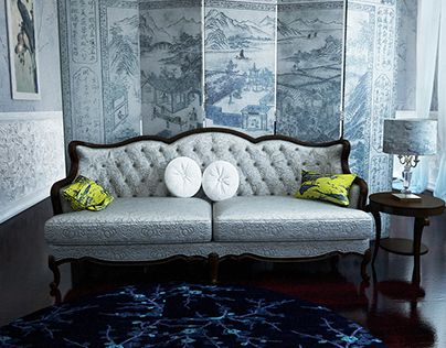 """Check out new work on my @Behance portfolio: """"chinoiserie room"""" http://on.be.net/1KUHZc3"""