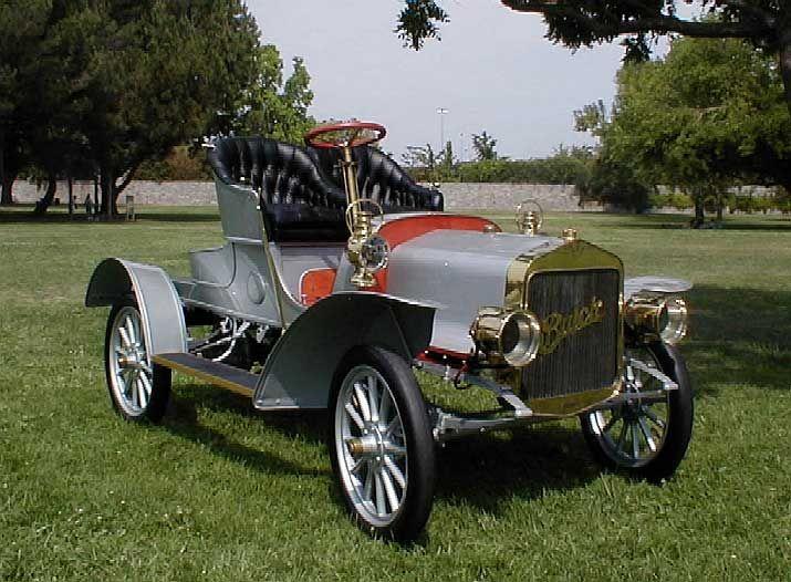 ✤ 1907 Buick Model G Roadster