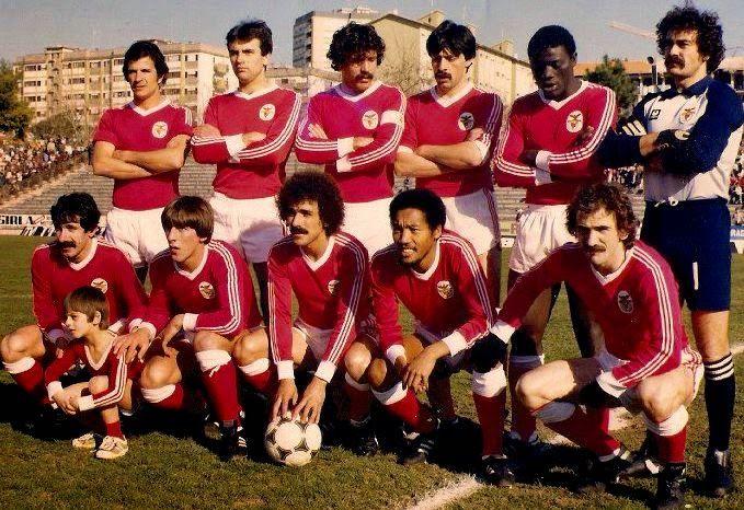Chalana Benfica: Bento (GR), Pietra, Nené, João Alves, Shéu, Carlos Manuel